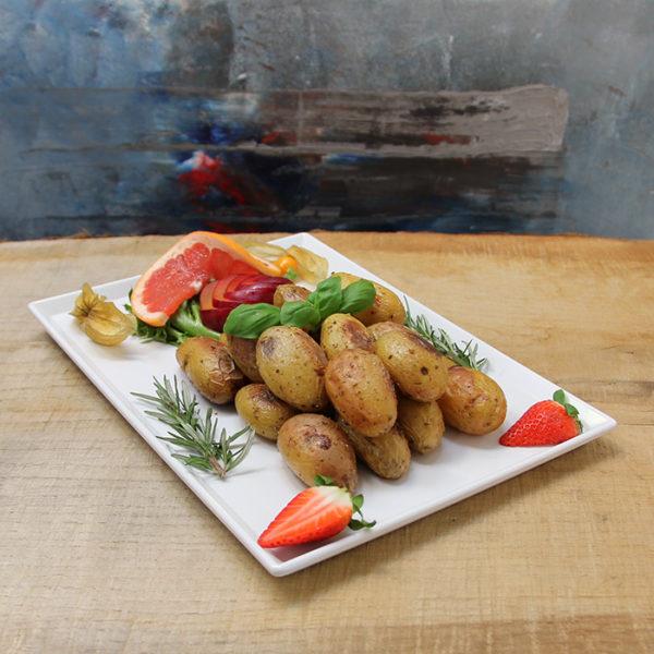 Saltbakte poteter med aioli