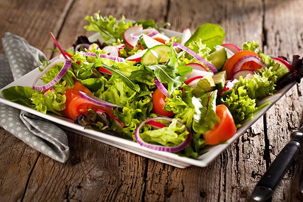 Blandet salat til våre gryteretter