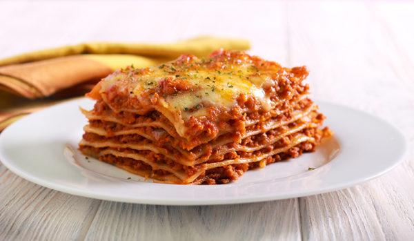 Lasagne med bolognese saus