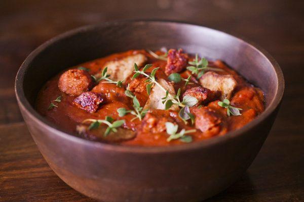 Svinegryte med Chorizo