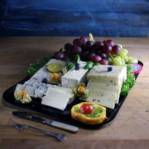 Ostefat med druer