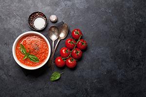 Grunnoppskrift tomatsaus