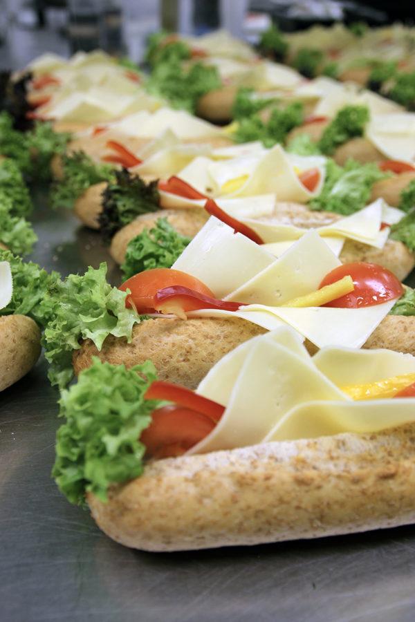 Baguette med ost catering jessheim